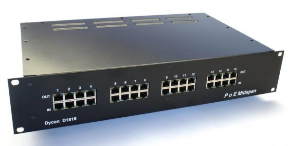 Guidance on using Power-over-Ethernet to drive security system equipment