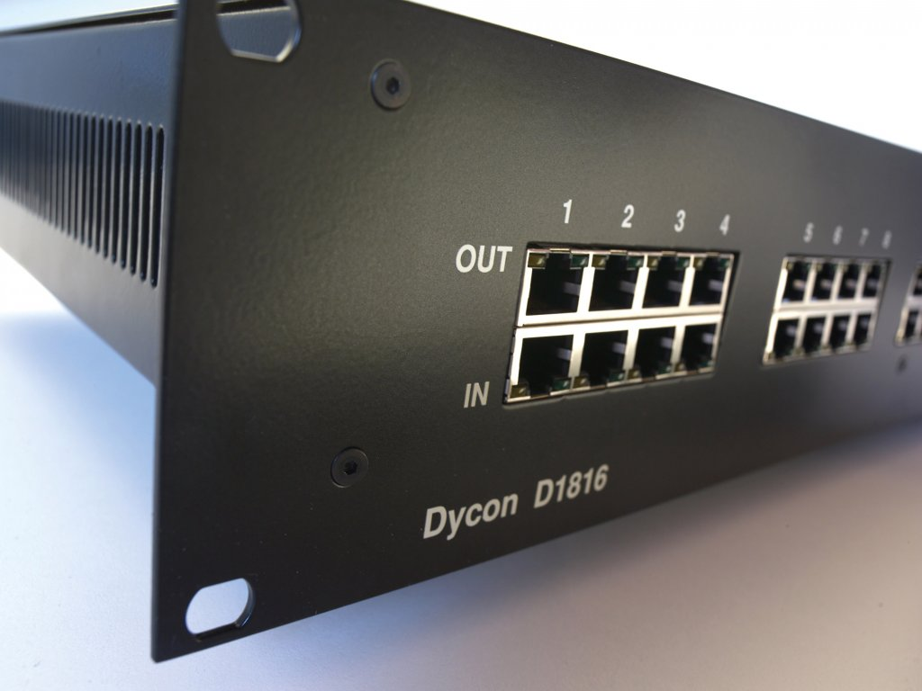 Power Over Ethernet Poe Electronic Product Design Solutions Dycon D1816 Mid Span 16 Way Unit 35w Per Channel