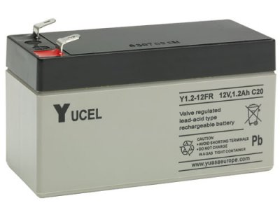 12VDC  Rechargeable Batteries
