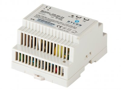 Power supplies for use on 7.5mm  and 15mm NS32-G and N35 standard DIN-Rails